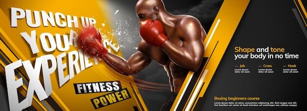 Profesjonalne zajęcia bokserskie na siłowni