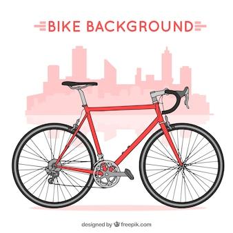 Profesjonalny rower tle