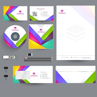 Professional business branding kit, w tym letter head
