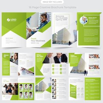 Profil firmy projekt broszury