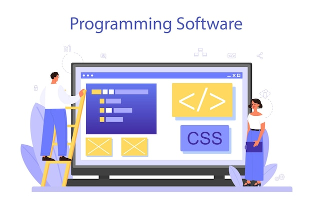 Programowanie usługi lub platformy online