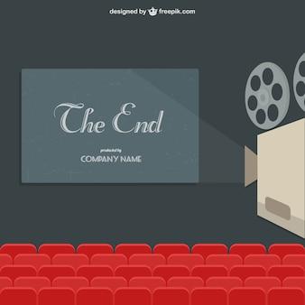 Projekcja filmu theater