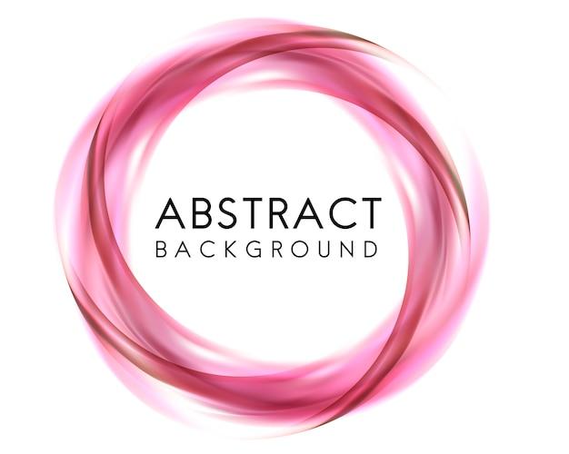 Projekt abstrakcyjna tła w kolorze różowym