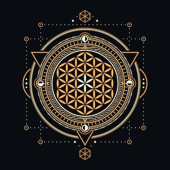 Projekt abstrakcyjnej świętej geometrii