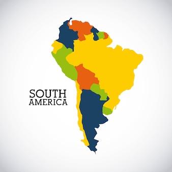 Projekt ameryki południowej