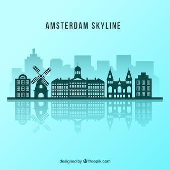 Projekt amsterdam skyline