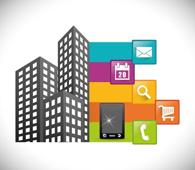Projekt aplikacji mobilnych na smartfony miasta