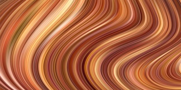 Projekt artystyczny z nowoczesnymi kolorowymi falami cieczy