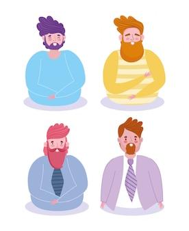 Projekt avatary dla mężczyzn