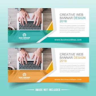 Projekt banera sieci web