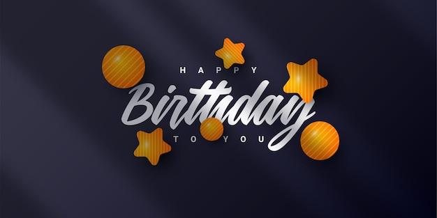 Projekt banera z okazji urodzin