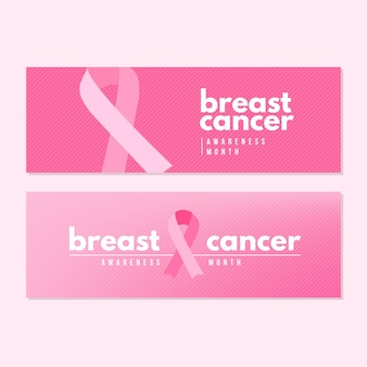Projekt banerów miesiąca świadomości raka