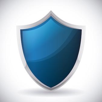 Projekt bezpieczeństwa, ilustracji wektorowych,