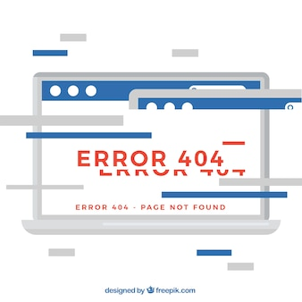 Projekt błędu kreacji 404