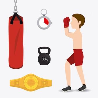 Projekt boksu.