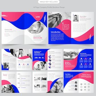 Projekt broszury o profilu firmy