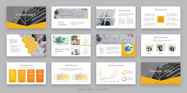 Projekt budowy prezentacji biznesowych z infografiką