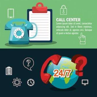 Projekt call center