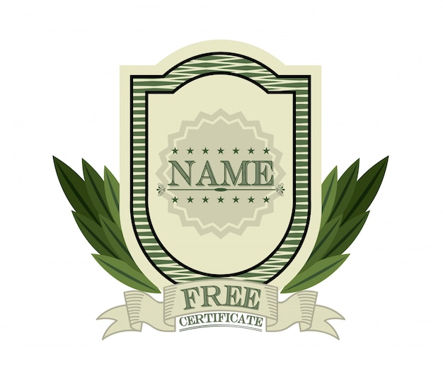 Projekt certyfikatu
