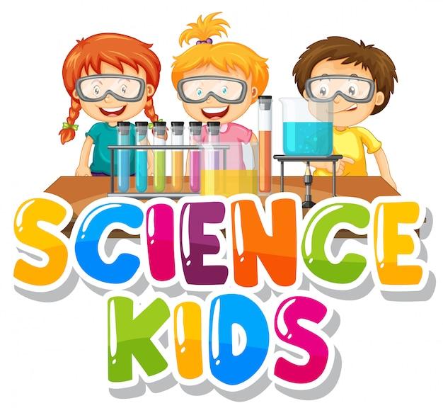 Projekt czcionki dla dzieci nauki słowa z dzieckiem w laboratorium