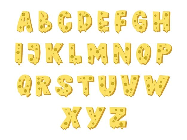 Projekt czcionki sera. wielkie litery.