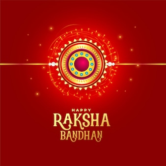 Projekt czerwonej kartki festiwalu raksha bandhan