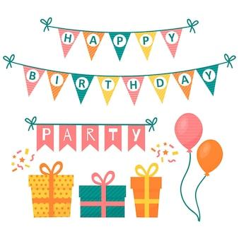 Projekt dekoracji na przyjęcie urodzinowe