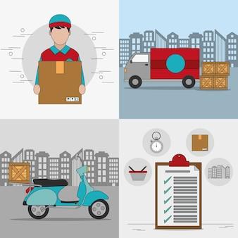 Projekt dostawy i wysyłki