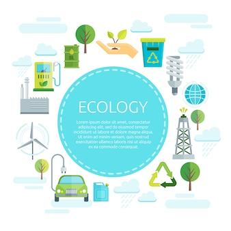 Projekt Ekologii Ziemi Darmowych Wektorów