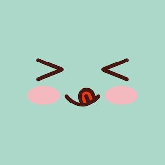 Projekt emotikonów twarzy