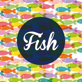 Projekt figury rybnej