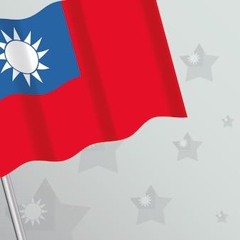 Projekt flaga tajwanu