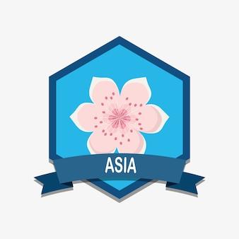 Projekt godło azji