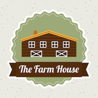 Projekt graficzny farmy