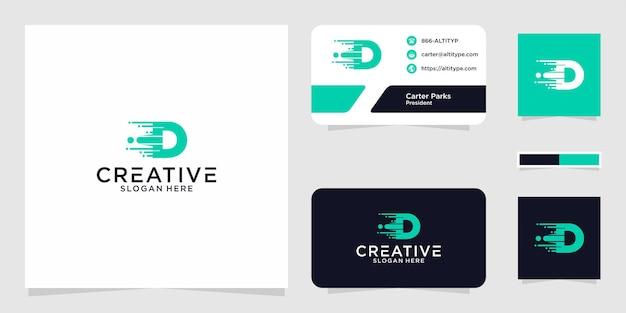 Projekt graficzny logo di fast tech do innych zastosowań jest idealny