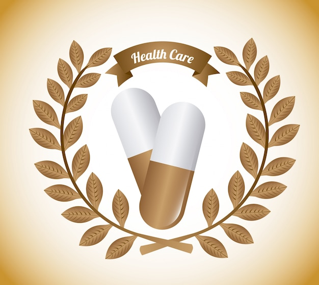 Projekt graficzny opieki zdrowotnej