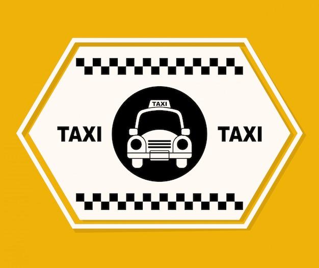 Projekt graficzny taksówki