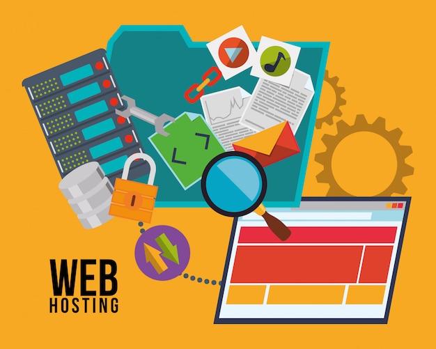 Projekt hostingu internetowego