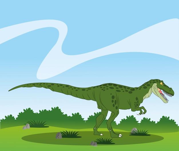 Projekt ikona dinozaura