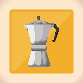 Projekt ikona kawy