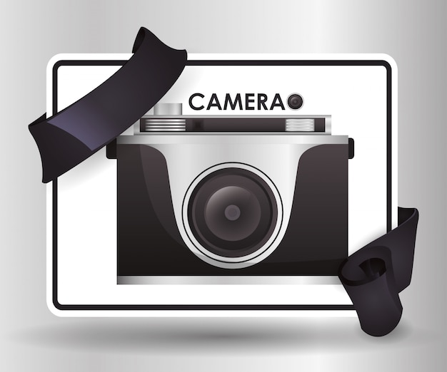 Projekt ikony aparatu
