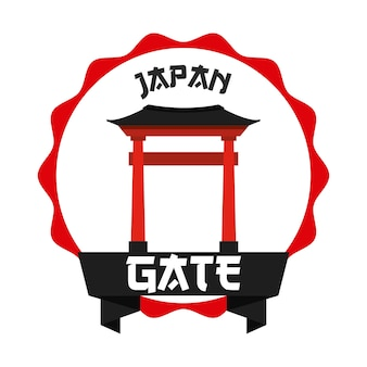Projekt ikony japonii