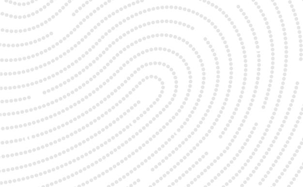 Projekt ikony linii papilarnych dla aplikacji i płaskiego skanowania odcisków palców ilustracja wektorowa projektowania wektorowego