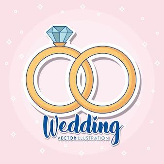 Projekt ikony ślubne