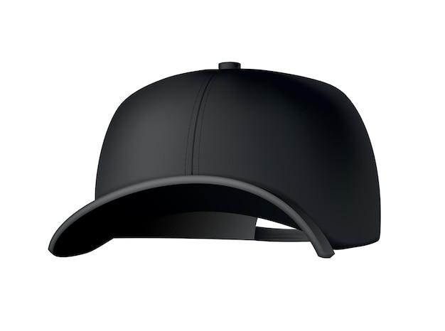 Projekt ilustracji czapki z daszkiem