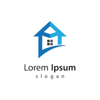 Projekt ilustracji logo domu