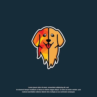 Projekt inspiracji logo psa