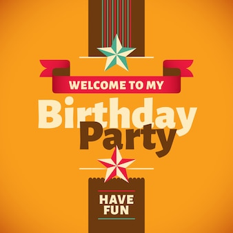 Projekt kartki urodzinowej