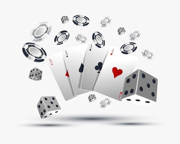 Projekt karty do pokera w kasynie