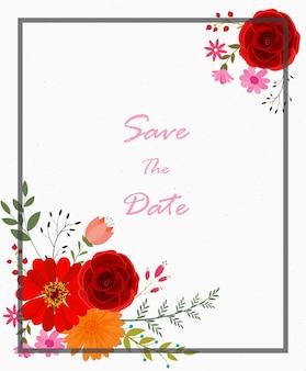 Projekt karty uroczystości weselne